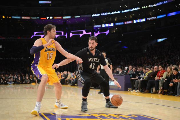 Lakers Rumors: Latest Rumblings from Los Angeles on Pau Gasol and Kevin Love