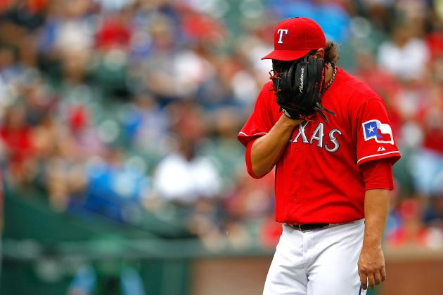 Texas Rangers Options for Replacing Derek Holland Until Midseason