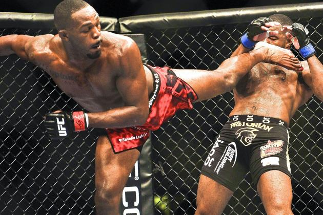 Jon Jones vs. Glover Teixeira Official for UFC 172 on April 26 in Baltimore