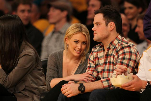 Hilary Duff and Former NHL Player Mike Comrie Separate