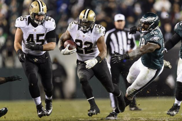 Breaking Down Mark Ingram's Resurgence in New Orleans Saints Offense