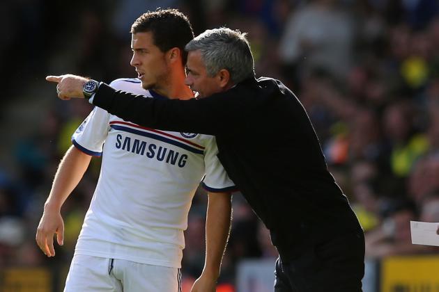 Chelsea Transfer News: Jose Mourinho Wise to Brush Aside Eden Hazard Speculation