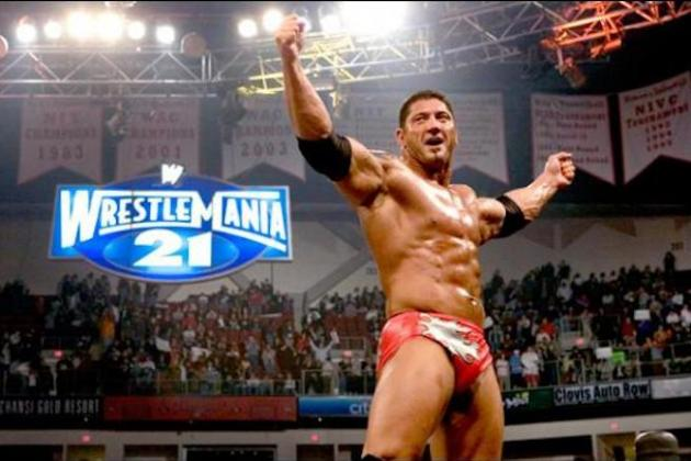 Analyzing Batista's Road to 2014 WWE Royal Rumble