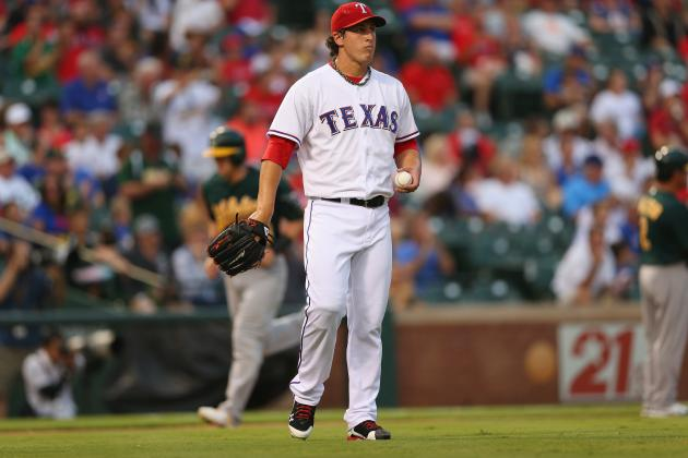 Derek Holland Down: Texas Rangers Must Now Go All-In on Masahiro Tanaka