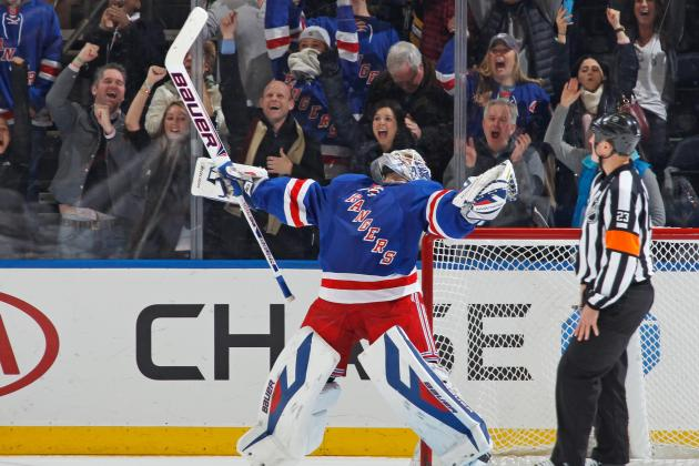 Henrik Lundqvist's Play Is Helping to Defuse New York Rangers Goalie Controversy