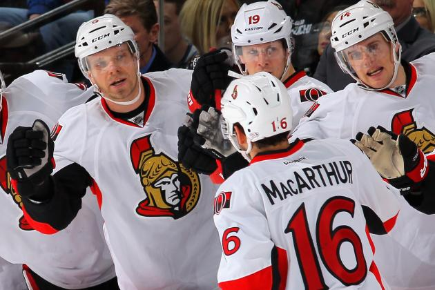 Ottawa Senators Forward Clarke MacArthur Proving to Be a Valuable Addition