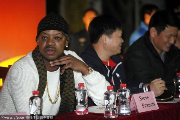 Steve Francis Doesn't Look Like Steve Francis Anymore