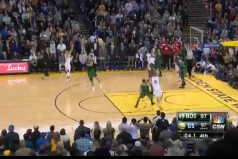 Steph Curry Hits Game-Winning Pull-Up Jumper to Beat Boston Celtics