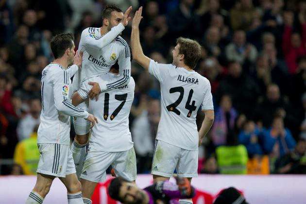 Real Madrid: How Will They Line Up Against Espanyol in La Liga?