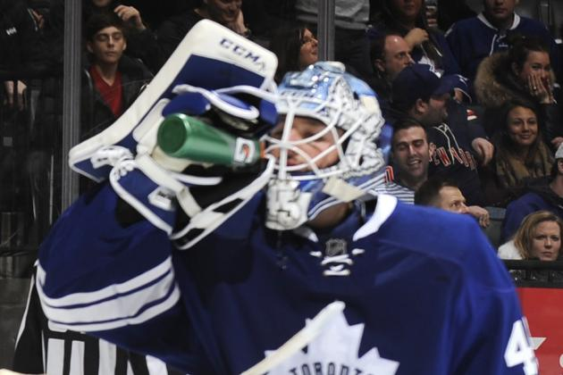 Bernier's Confidence High Despite Leafs Struggles
