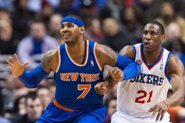 New York Knicks vs. Philadelphia 76ers: Live Score, Highlights and Analysis
