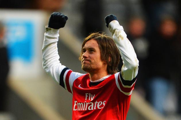 Arsenal Transfer News: Arsene Wenger Right to Retain Tomas Rosicky's Services