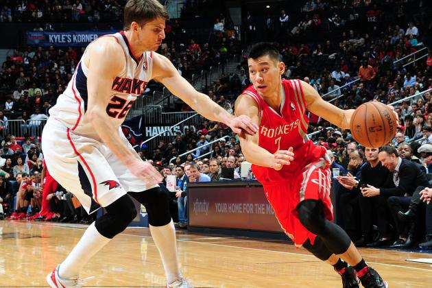 Sluggish Rockets Offensively Inept in Loss to Hawks