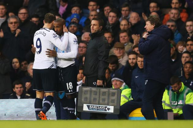 Tottenham Hotspur: Eager Defoe Outshines Lifeless Soldado in Win over Palace