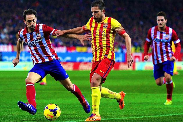 Atletico Madrid vs. Barcelona: La Liga Live Score, Highlights, Report