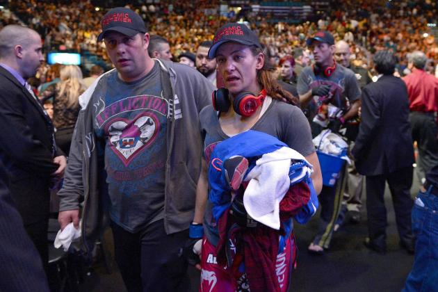 Miesha Tate on Ronda Rousey: 'I'd Fight Her 100 Times'