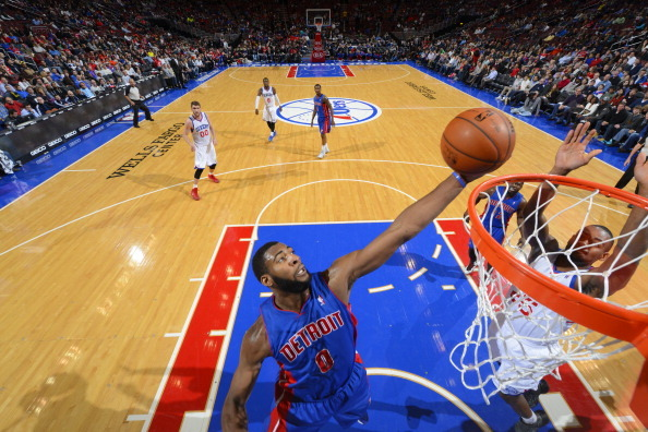 Brandon Jennings Throws Alley-Oop Off Backboard to Andre Drummond