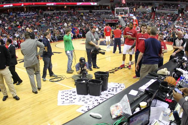 Verizon Center Roof Leak Delays Washington Wizards-Houston Rockets Game