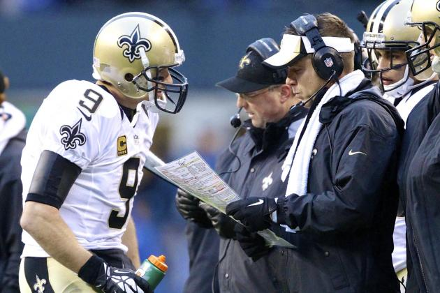 Look No Further Than Payton, Brees for Another Saints Playoff Failure
