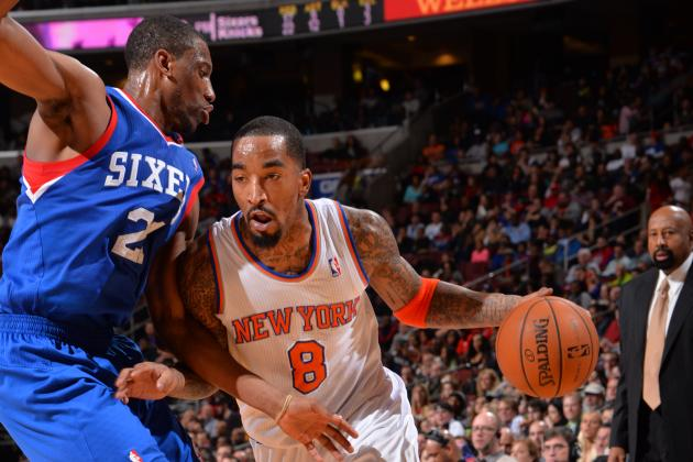 J.R. Smith Excels for NY Knicks After One-Game Benching