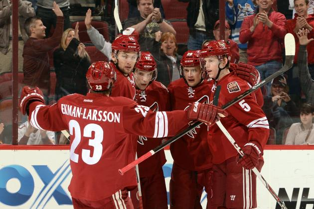 How Did the Phoenix Coyotes Fall so Far Back in the Pacific Division?