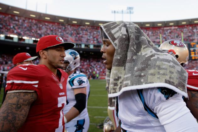 Is Colin Kaepernick or Cam Newton Facing More Pressure for NFC Divisional Round?