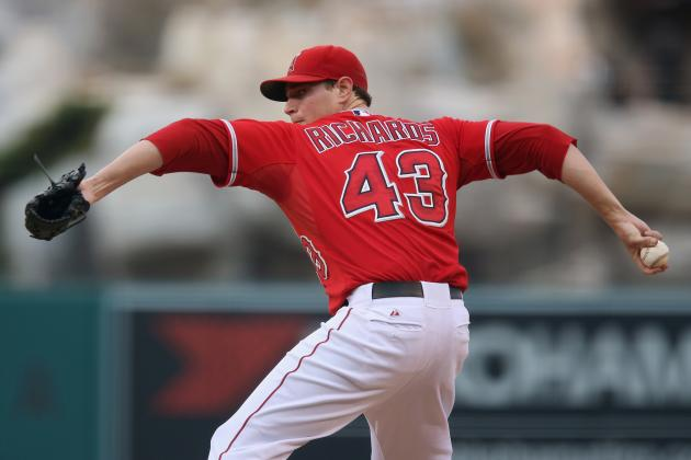 LA Angels' Garrett Richards Shows Signs of a Breakout Season