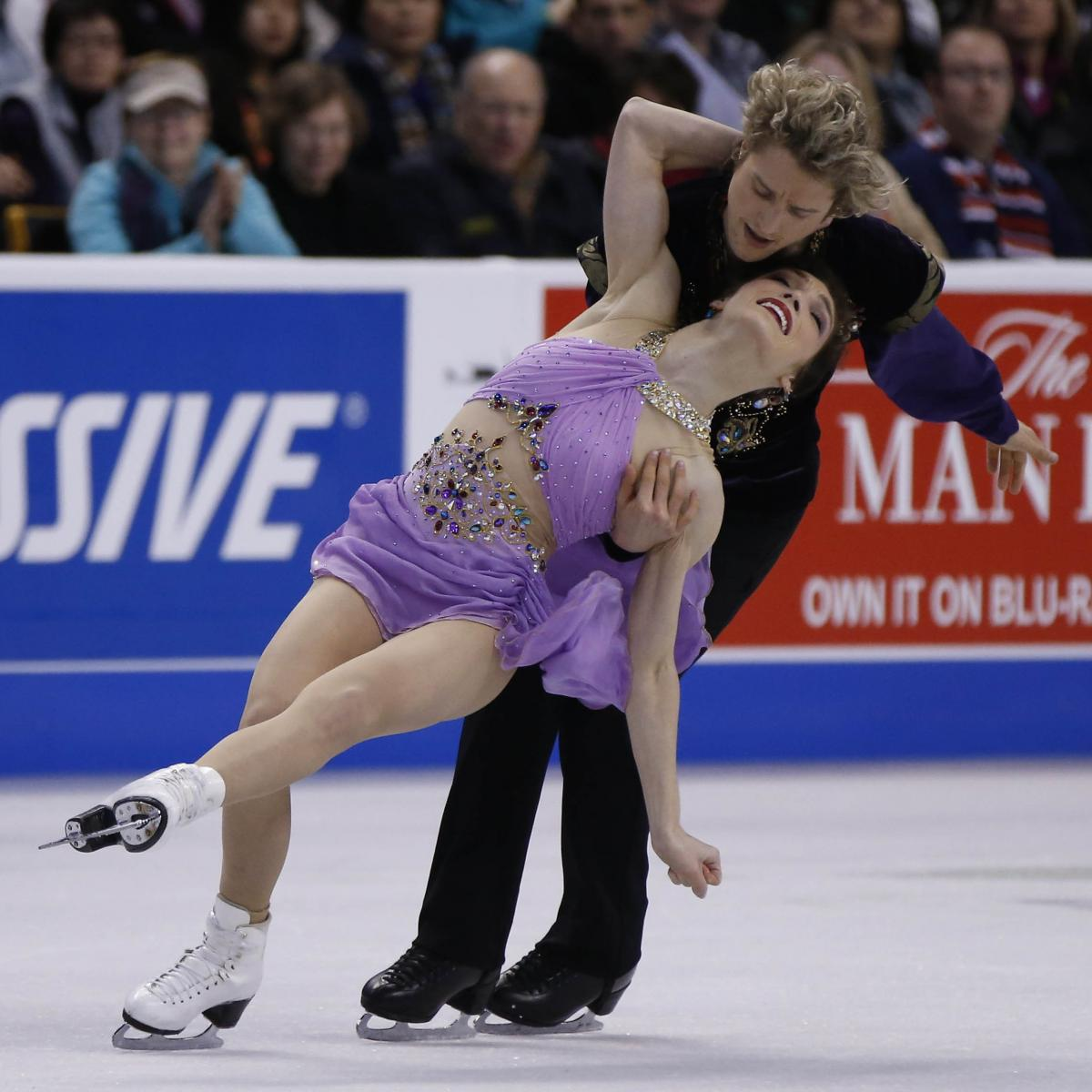 What usa figure skaters are dating