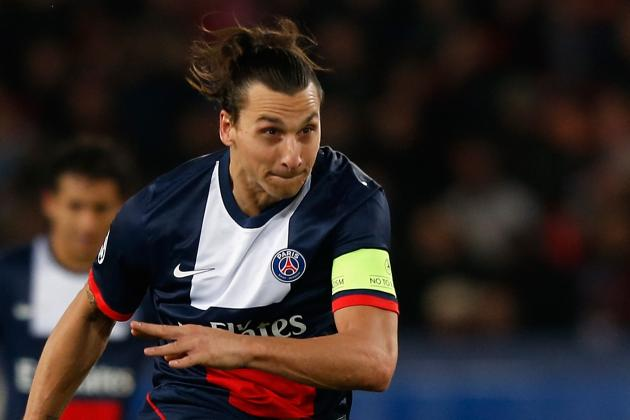 GIF: Zlatan Ibrahimovic Attempts Outlandish Backheel Pass