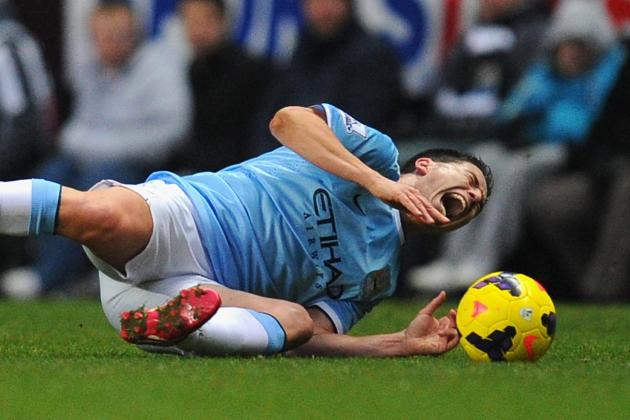 Samir Nasri Injury: Updates on Manchester City Star's Knee and Return
