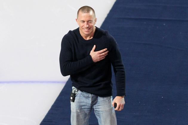 Georges St-Pierre Makes 1st Public Appearance Since UFC Hiatus