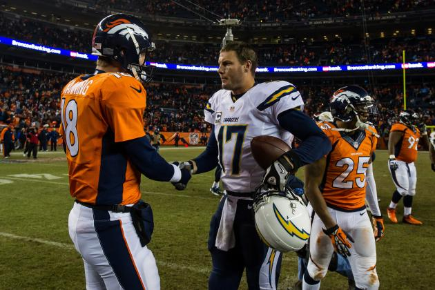 Chargers vs. Broncos: Predicting Top Stars and Score for Divisional Showdown