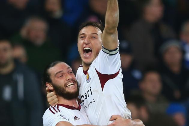 Andy Carroll Is Really, Really Happy to Be Back on the Pitch