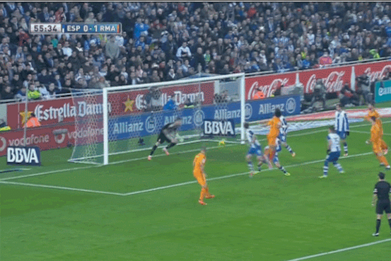 GIF: Pepe Heads in Game-Winner for Real Madrid vs. Espanyol