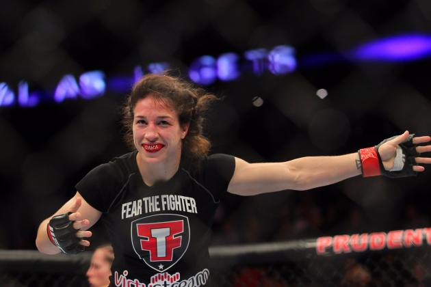 Sara McMann Feels Long Layoff Between Fights Will Not Be a Factor