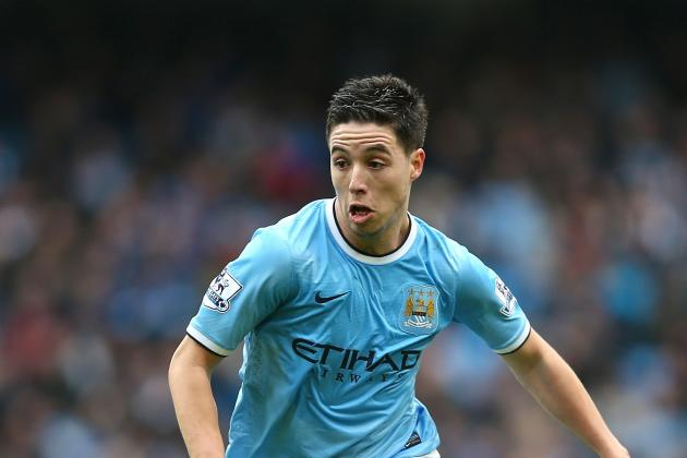 Manchester City Take Another Step Toward Title but Samir Nasri Injury Is a Worry