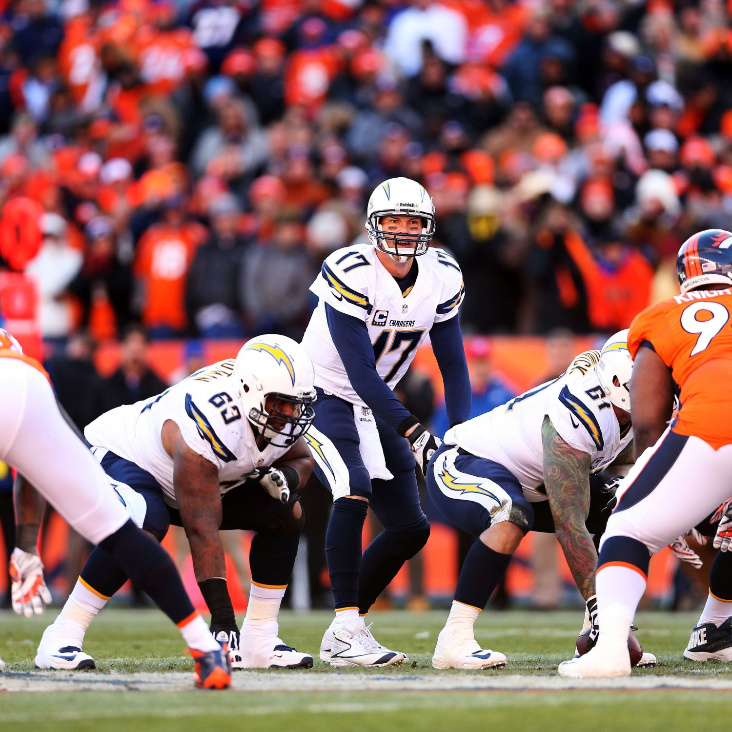 San Diego Chargers Current Score: San Diego Chargers Vs. Denver Broncos: Live Score