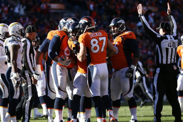 Broncos Strike First Against Chargers, as They've Done Twice Before