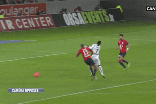 GIF: Stade de Reims' Odair Fortes Scores Bizarre Goal vs. Lille with His Face