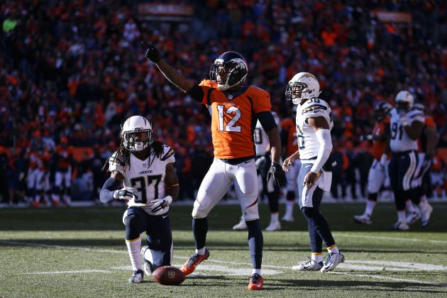 Chargers vs. Broncos: Live Score, Highlights for AFC Divisional Game 2014