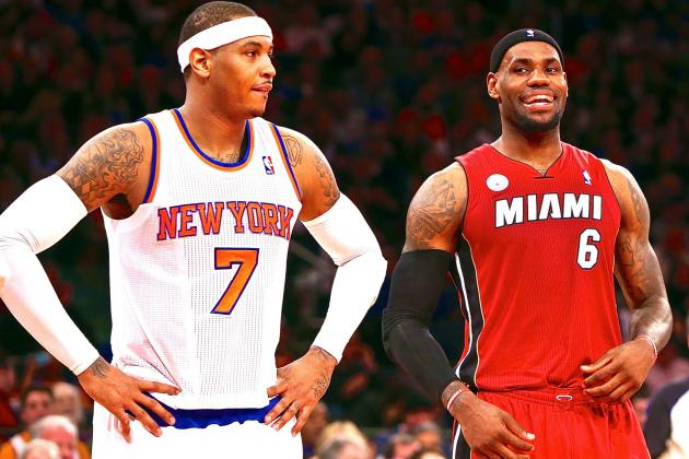 LeBron James Gives Carmelo Anthony Free Agency Advice: 'Do What Makes You Happy'