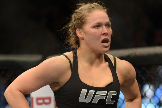 Ronda Rousey Curbs Trash Talk, Lauds Fellow Olympian Sara McMann