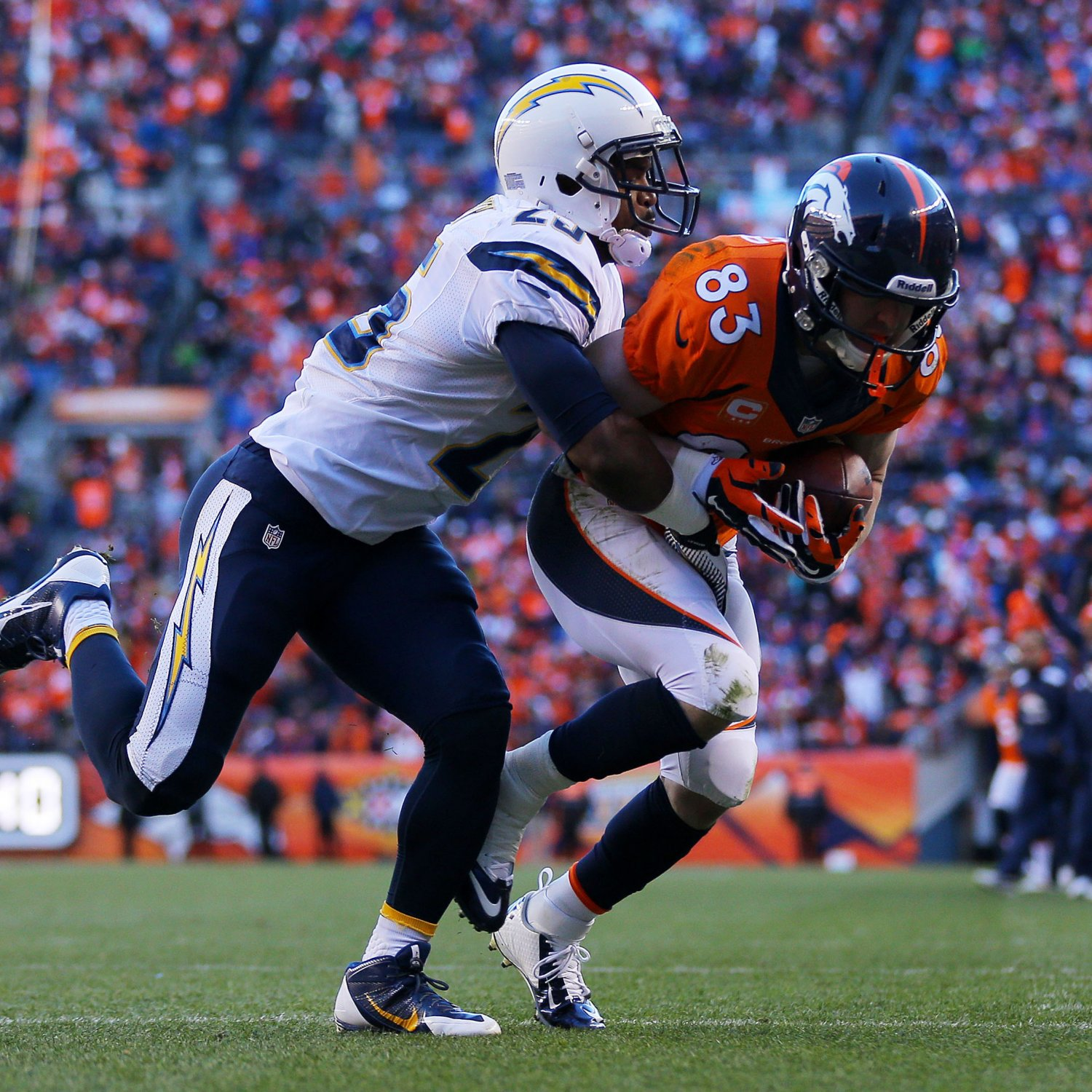 San Diego Chargers Denver Broncos Score: Refs Make Confusing Pass Interference Call In San Diego Vs