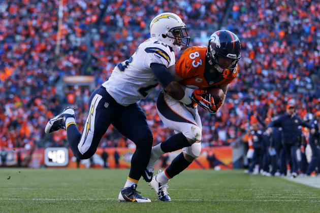 Refs Make Confusing Pass Interference Call in San Diego vs. Denver Playoff Game