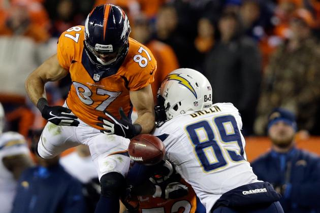 Despite Broncos' Win, Eric Decker Had a Rough Day on Divisional Sunday