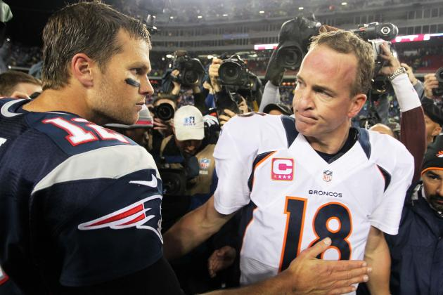 Peyton Manning, Tom Brady Familiar Foes on AFC's Biggest Stage