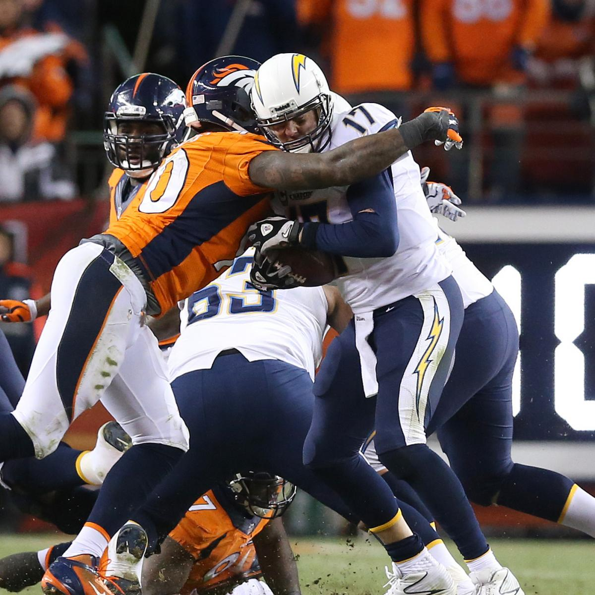 San Diego Chargers At Denver Broncos: San Diego Chargers' Positional Grades Vs. Denver Broncos