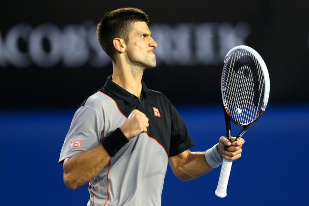 Novak Djokovic vs. Lukas Lacko: Recap and Results from Australian Open 2014