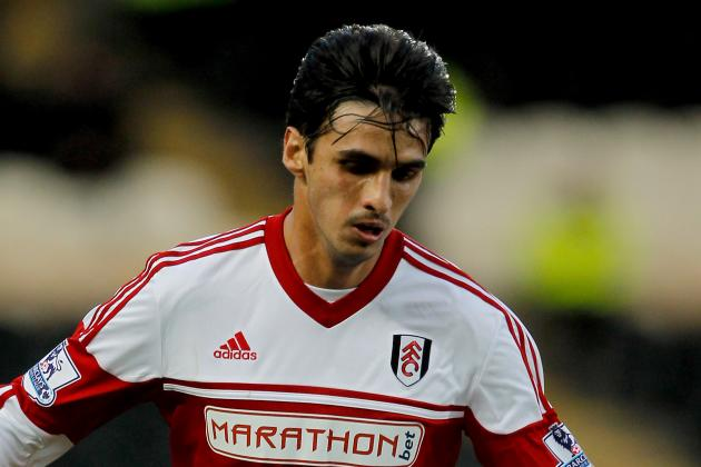 Pastures New for Fulham Striker Bryan Ruiz as He Undergoes PSV Medical