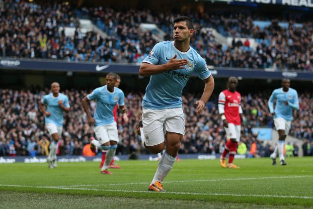 Sergio Aguero's Return Badly Needed by Injury-Ravaged Manchester City